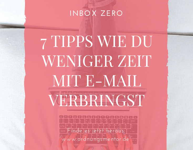 Inbox-Zero Zeitmanagement E-Mail-management